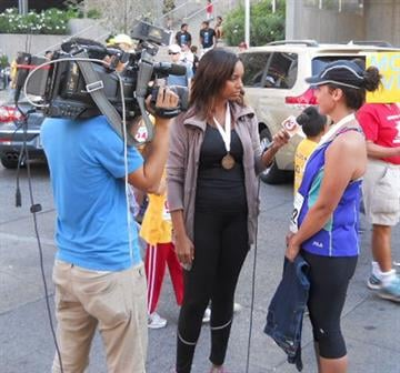 3TV's Brittney Shipp interviews Amy Crockett, who was motivated by the Phoenix 10k to lose weight By Mike Gertzman