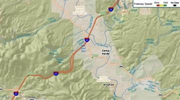 Construction of a two-mile climbing lane on southbound I-17 leading to the top of Copper Canyon south of Camp Verde will begin in early 2013 By Jennifer Thomas