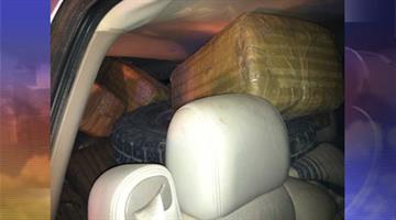 U.S. Border Patrol agents found 1,097 pounds of marijuana inside a stolen vehicle. By Jennifer Thomas