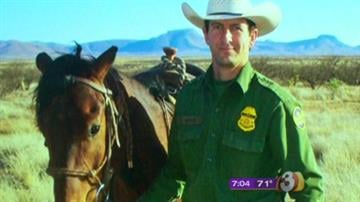 Border Agent Nicholas Ivie By Catherine Holland