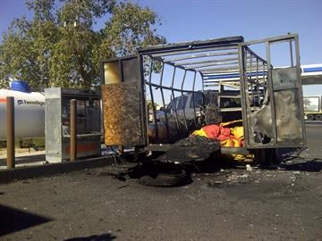 An explosion rocked a north Phoenix gas station, sending a hot air balloon pilot to the hospital Wednesday. By Catherine Holland
