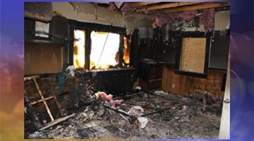 Detectives are trying to determine if a fire and a burglary at a Walker, Ariz., home are related. By Jennifer Thomas