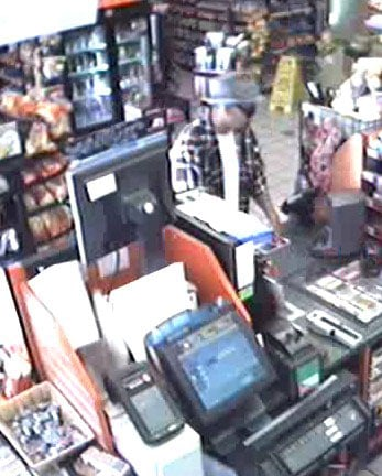 A person of interest used a stolen credit card at a store. By Jennifer Thomas