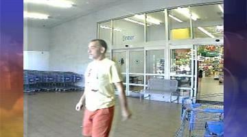 Surveillance photo of suspect who police say conned an elderly woman into giving him $3,000. By Jennifer Thomas