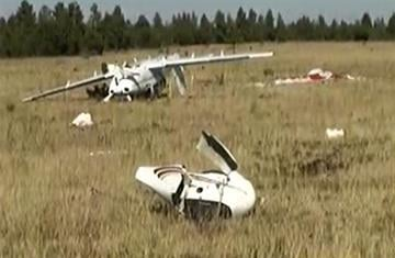 A pilot was able to walk away after his plane crashed northeast of Pinetop. By Jennifer Thomas
