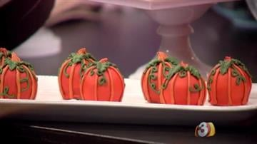 Pumpkin Truffles By Tami Hoey