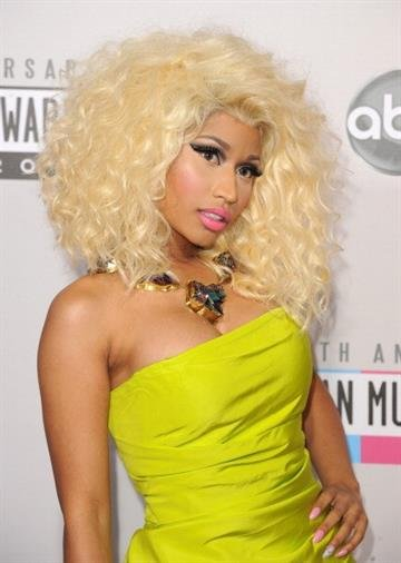 LOS ANGELES, CA - NOVEMBER 18:  Rapper Nicki Minaj attends the 40th American Music Awards held at Nokia Theatre L.A. Live on November 18, 2012 in Los Angeles, California.  (Photo by Jason Merritt/Getty Images) By Jason Merritt