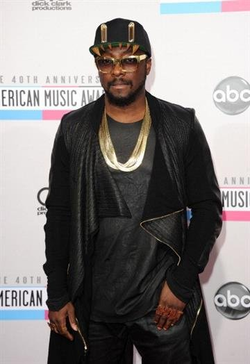 LOS ANGELES, CA - NOVEMBER 18:  Musician will.i.am attends the 40th American Music Awards held at Nokia Theatre L.A. Live on November 18, 2012 in Los Angeles, California.  (Photo by Jason Merritt/Getty Images) By Jason Merritt