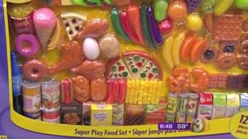 Toys with small parts can present a choking hazard. By Catherine Holland