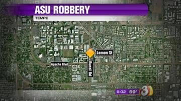 ASU student attacked and robbed in parking garage By Tami Hoey