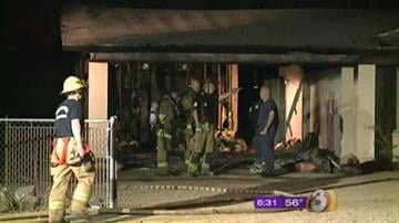 A Valley family owes their lives to a stranger who woke them up after their home caught fire early Wednesday morning. By Catherine Holland