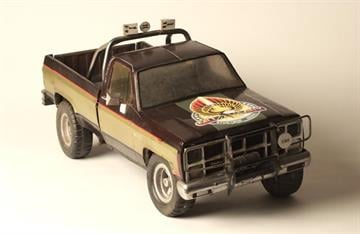 GMC Truck Miniature By Catherine Holland