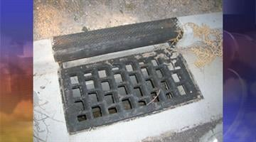 Seventy-five storm drains have been stolen in the Shadow Mountain subdivision, east of Mesquite and south of Beaver Dam, in Mohave County. By Jennifer Thomas