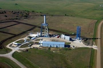 SpaceX's test site in McGregor, Texas. By Catherine Holland