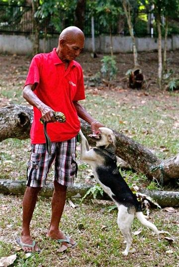 Owner Rudy Bunggal and Kabang. By Catherine Holland