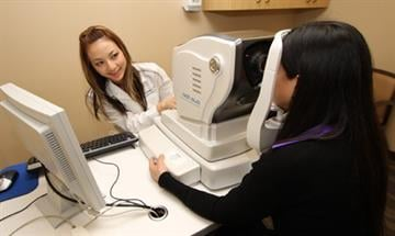 Optical coherence tomography (OCT) is a non-invasive technology used for imaging the retina (back of the eye). By Catherine Holland