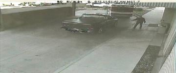 Surveillance video from the hospital showed that Valenzuela, 37, was driving a 2003 black Dodge truck with the Arizona license plate 51FB40. That truck has two Air Jordan stickers on its back window. By Catherine Holland