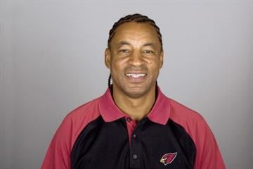 TEMPE, AZ - CIRCA 2011: In this handout image provided by the NFL, Ray Horton of the Arizona Cardinals poses for his NFL headshot circa 2011 in Tempe, Arizona. (Photo by NFL via Getty Images) By Handout