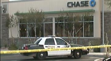 Police are searching for a man who robbed a Chase Bank at Northern and 91st avenues in Peoria. By Jennifer Thomas