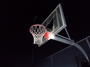 Two juveniles are accused of damaging basketball backboards at Cottonwood's Mingus Union High School. By Jennifer Thomas