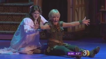 Cathy Rigby stars as Peter Pan at ASU's Gammage Auditorium By Tami Hoey
