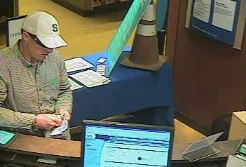 Bank robbery suspect By Tami Hoey