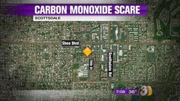 A Scottsdale mother and daughter were treated for carbon monoxide poisoning after their car was left running in their garage. By Jennifer Thomas