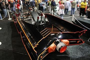The original Batmobile from the 1960s TV series will be auctioned on Jan. 19 at the Barrett-Jackson car auction in Scottsdale, Ariz. By Mike Gertzman