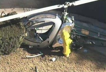 Helicopter crash-lands in Mesa By Mike Gertzman