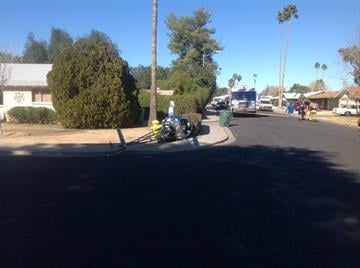Helicopter crash-lands in Mesa By Jennifer Thomas