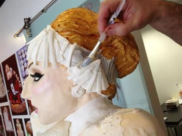 Life-size Lady Gaga cake by KAK By Catherine Holland