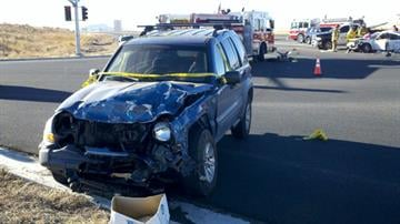 A 19-year-old woman was killed in a crash at state Route 89A and Robert Road in Prescott Valley. By Jennifer Thomas