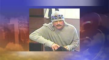 Authorities are searching for a man who robbed a Chase Bank near Happy Valley Road and 23rd Avenue in Phoenix on Jan. 18. By Jennifer Thomas
