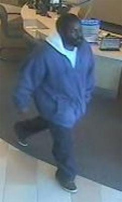 The FBI said a man robbed the Comerica Bank near Thomas Road and 44th Street in Phoenix on Jan. 17. By Jennifer Thomas