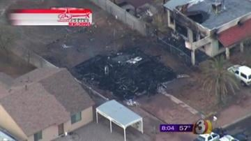 A house fire in Casa Grande is under investigation. By Jennifer Thomas