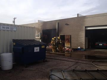 Investigators are trying to determine what caused a fire and explosions in a Tucson storage unit. By Jennifer Thomas