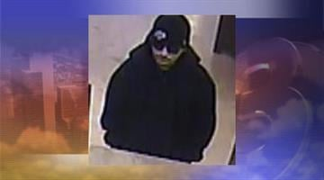 The FBI released a surveillance photo of a man suspected of robbing the MidFirst Bank near Bell Road and 67th Avenue in Glendale Friday morning. By Jennifer Thomas