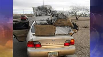 Four illegal immigrants and a U.S. citizen were arrested after deputies found 160 pounds of marijuana inside a Nissan. By Jennifer Thomas