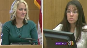 Lisa Daidone (left), Jodi Arias (right) By Mike Gertzman