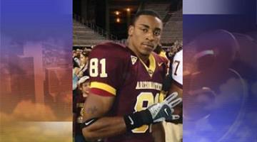 Tyrice Thompson played football at Arizona State University from 2004 to 2007. By Jennifer Thomas