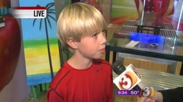 10-year-old artist uses talent to help others By Mike Gertzman