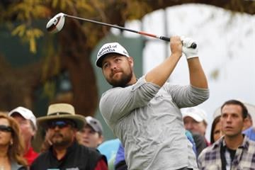 SCOTTSDALE, AZ - FEBRUARY 3: Ryan Moore hits his tee shot on the third hole during the final round of the Waste Management Phoenix Open at TPC Scottsdale on February 3, 2013 in Scottsdale, Arizona. (Photo by Hunter Martin/Getty Images) By Hunter Martin