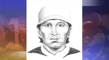 Composite sketch of suspect involved in a carjacking and attempted kidnapping in Tempe. By Jennifer Thomas