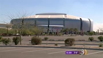 University of Phoenix Stadium By Jennifer Thomas