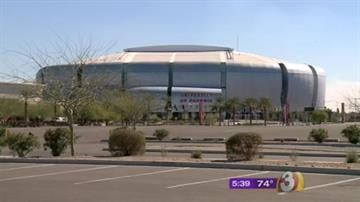 University of Phoenix Stadium By Jennifer Thomas