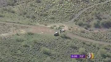 Human remains were found Wednesday off Carefree Highway near milepost 17. By Jennifer Thomas