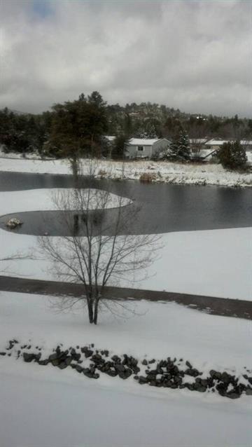 A snowy day in Prescott By Andrew Michalscheck