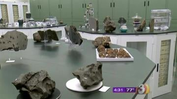 Arizona State University is home to one of the largest collections of meteorites on the planet at the Center for Meteorite Studies. By Jennifer Thomas