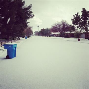 11th Ave. & Rose Lane, Phoenix, Ariz. By Mike Gertzman
