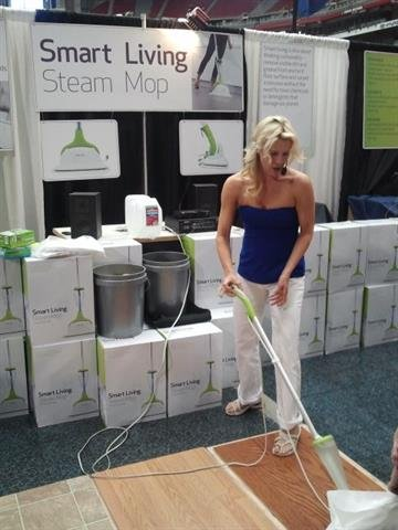 Smart Living Steam Mop Demonstration By Alice Kleinpeter